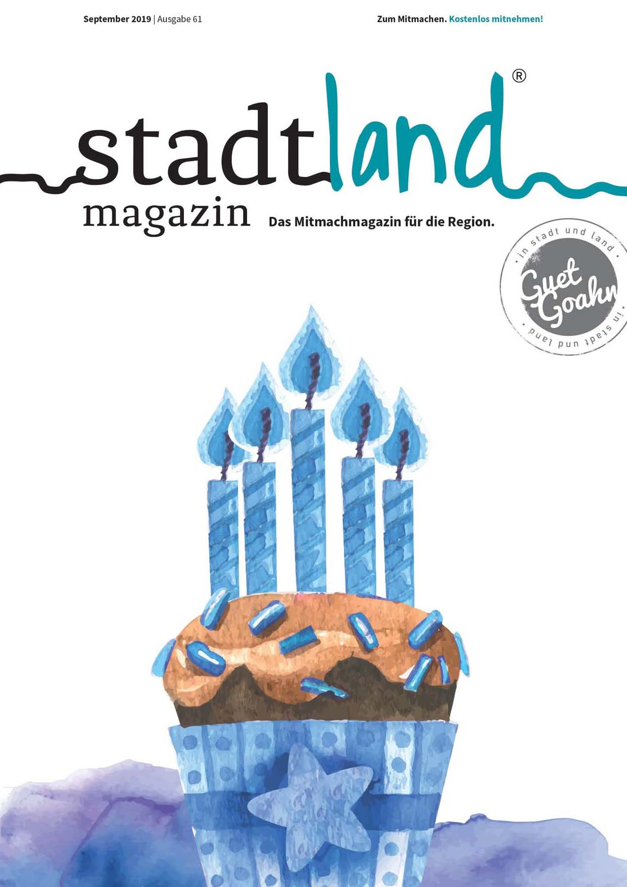 stadtland magazin September 2019
