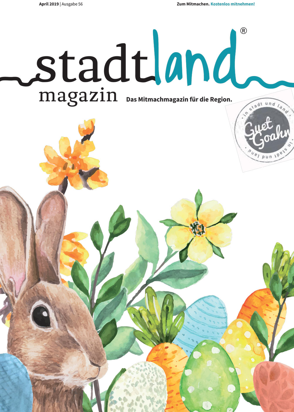 stadtland magazin April 2019